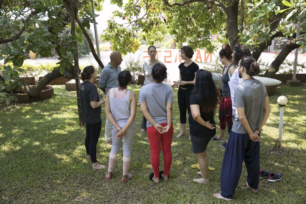 Karma Yoga Session In Progress