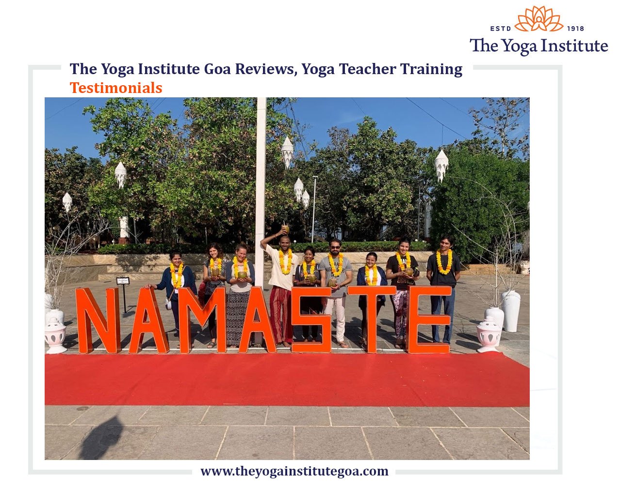 Yoga Teacher Training Testimonials